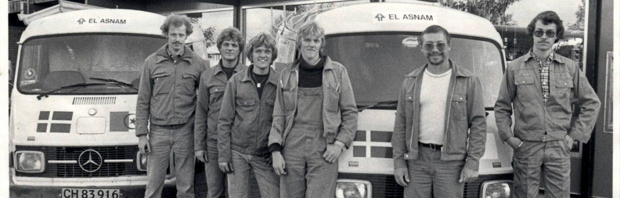 Turen til Algeriet 1981